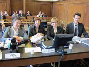 Joëlle Michaud, Justine Pelletier Desrosiers, Monica Popescu et Etienne Chenier-Laflèche.